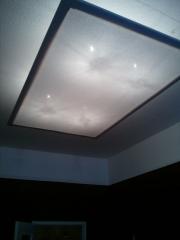 eine neue Deckenlampe