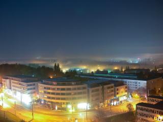 Nebel in der Stadt