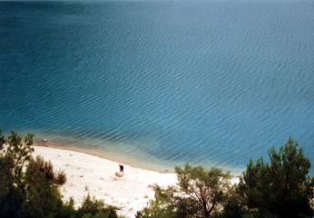 Der Wanderer am See