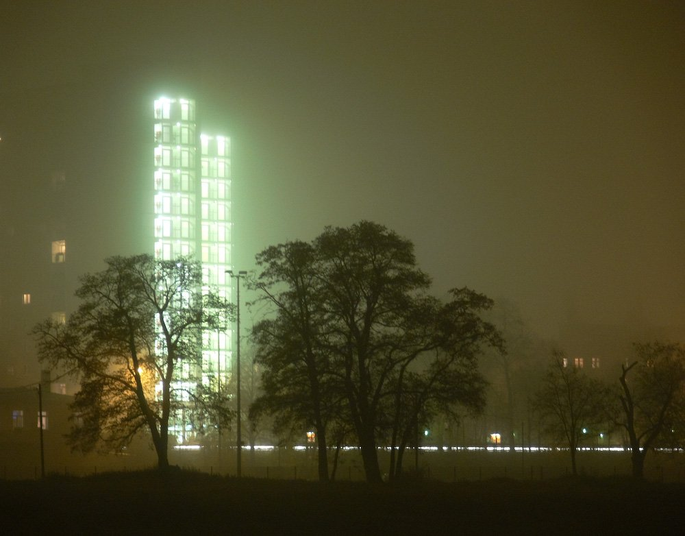 Nebel an der Elbe